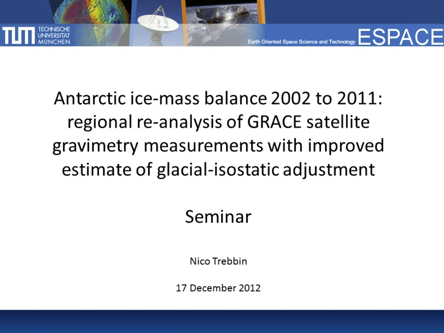 Antarctic ice-mass balance 2002 to 2011 from Sasgen et al.